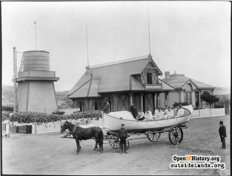 Golden Gate Park Lifesaving Station
