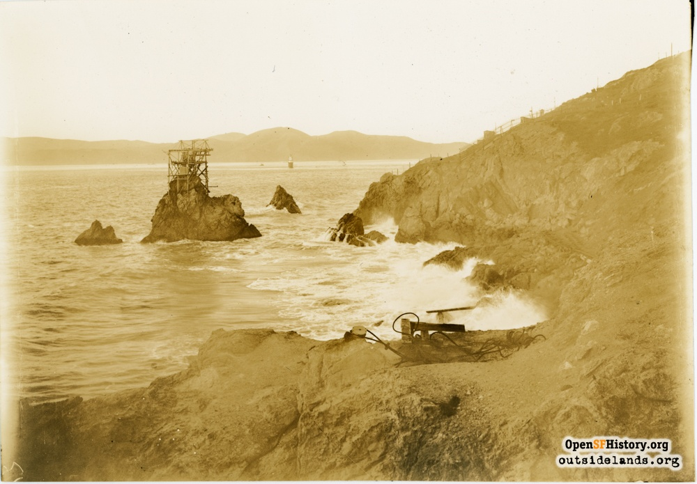 Wave Motors and Tide Machines at the Cliff House: 1886 to present