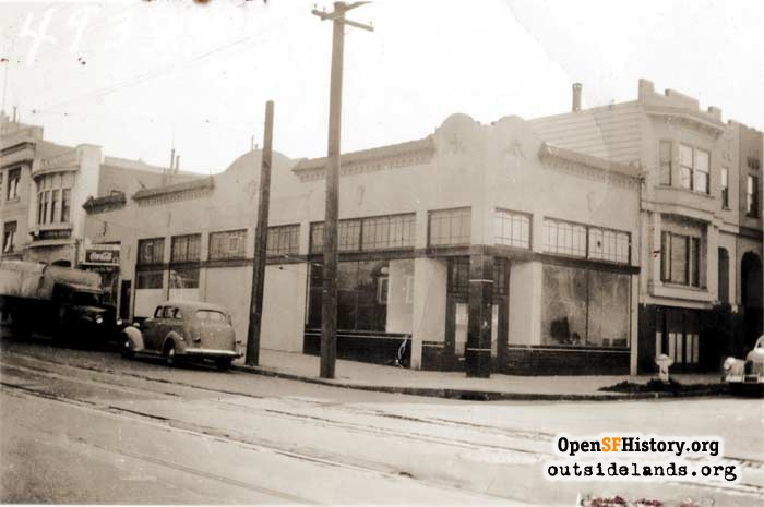 2039-2047 Clement Street on the corner of 22nd Avenue, 1940