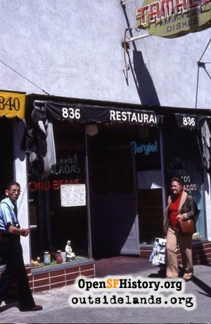 Mexico City Restaurant, 1970s