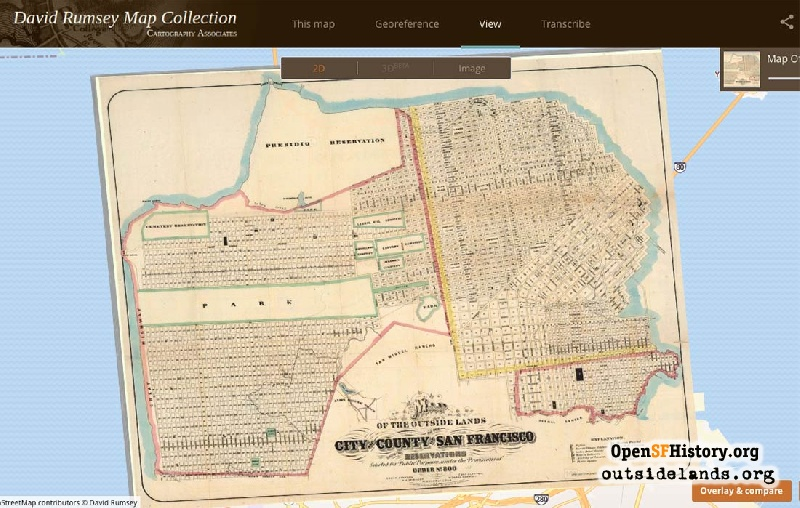 Outside Lands Podcast Episode 255: David Rumsey Map Collection