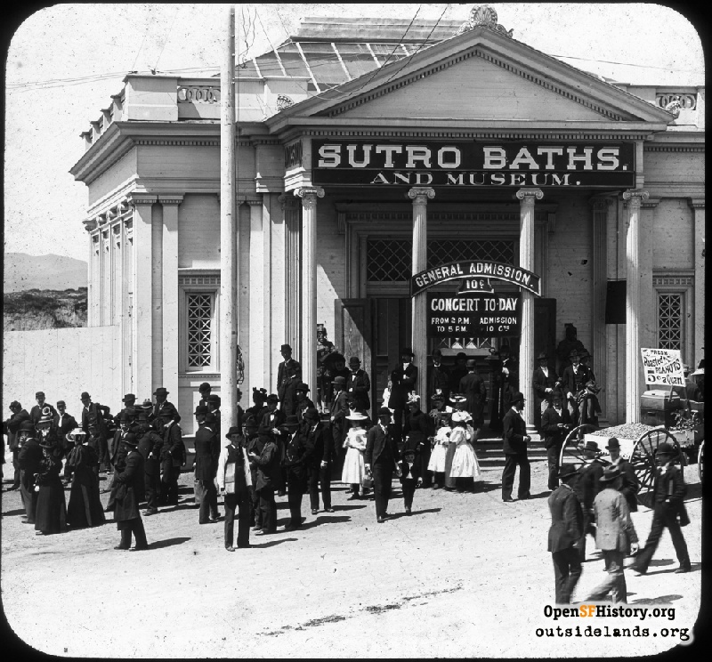 Outside Lands Podcast Episode 47: Sutro Baths