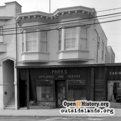 Parks Appliance Clement Street 1951
