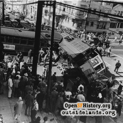 Streecar Crash 1947