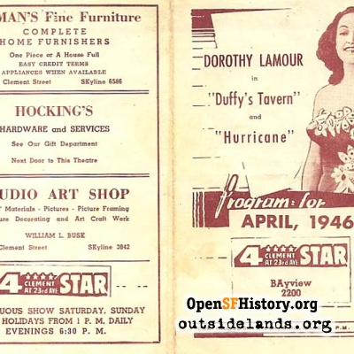 4 Star Theatre Program, April 1946