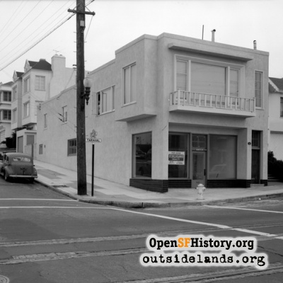 17th and Taraval, 1951