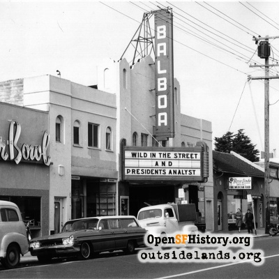 Balboa Theater and Sugar Bowl, 1969