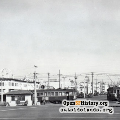 Cabrillo and Great Highway, 1947