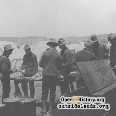 Camp Merritt Cooking 1898