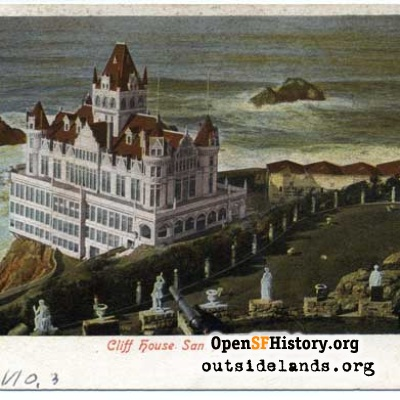 Second Cliff House from Sutro Heights