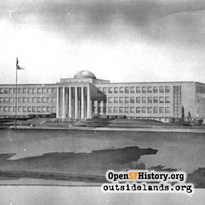 City College Sketch, 1936