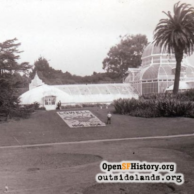 Conservatory of Flowers, 1956