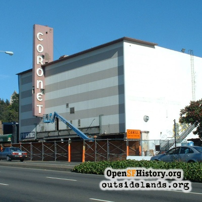 Coronet Theater Demolition