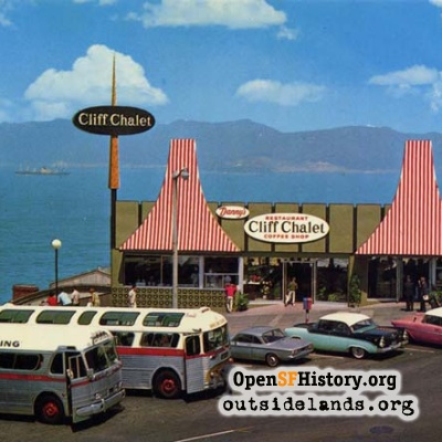 Danny's Cliff Chalet Coffee Shop, 1960s