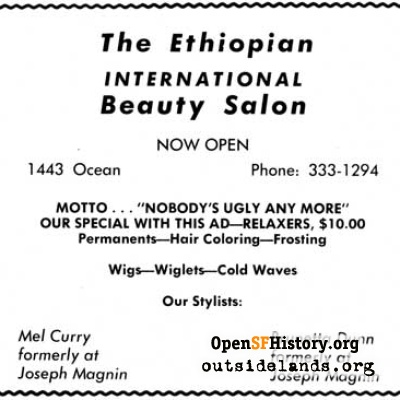 Ethiopian Beauty Salon