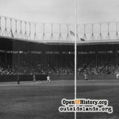 Ewing Field, Opening Day, 1914