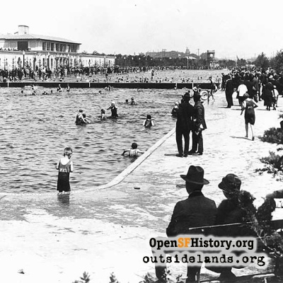 Fleishhacker Pool, 1920s
