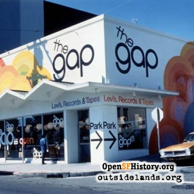 First Gap Store