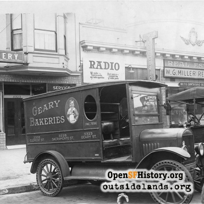 Geary Bakeries Truck