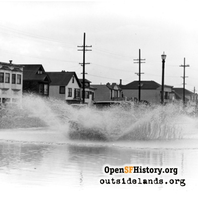 Great Highway Flooding, circa 1940