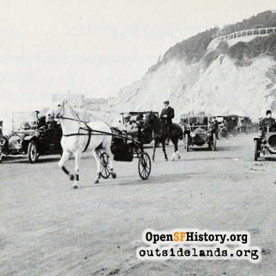 Great Highway Traffic, 1910