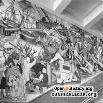 Washington High Murals