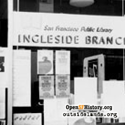 Ingleside Branch Library 1970s