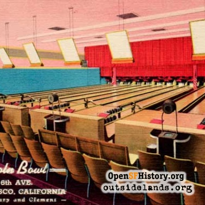 Lincoln Bowl postcard