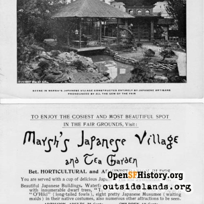 1894 Marsh's Japanese Village