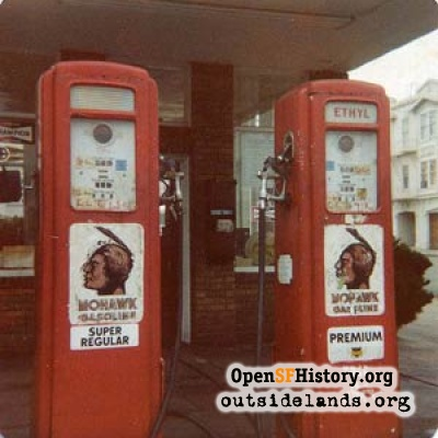 Gas pumps, 1978