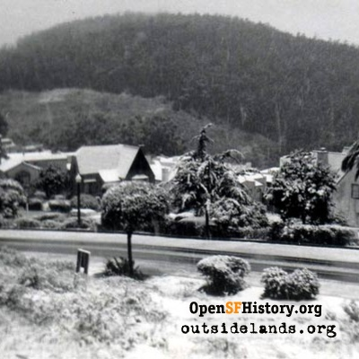 Snow at Pacheco and Alton, February 1951