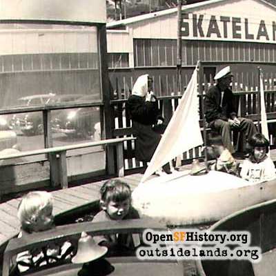 Playland and Skateland 1951
