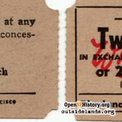 Playland tickets, Whitney's Playland