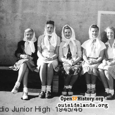 Presidio Jr. High, 1945