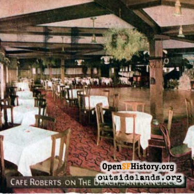 Roberts' roadhouse interior