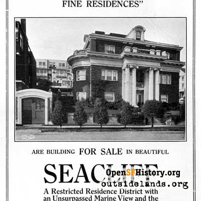 Sea Cliff Ad, 1914