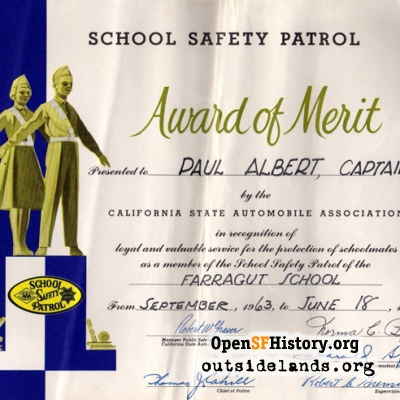 Safety Patrol Award