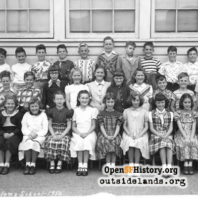 1950 Miraloma fourth grade
