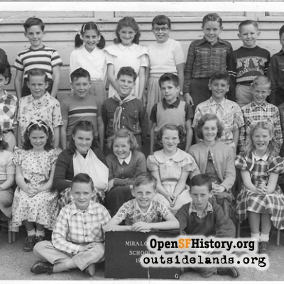 1951 Miraloma Fifth Grade