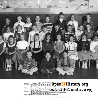 West Portal 1958 High First Low Second Grade