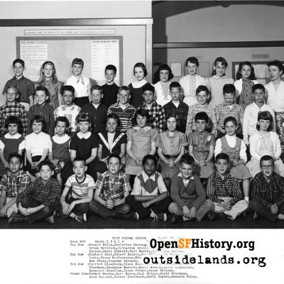 West Portal 1958 High Third Low Fourth Grade