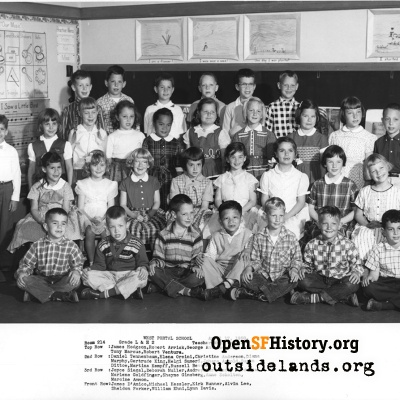 West Portal 1958 Second Grade