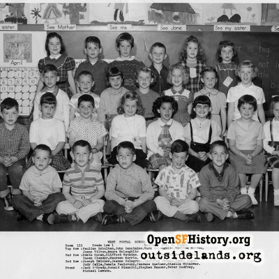 West Portal 1959 Low First Grade