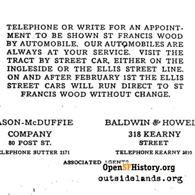 St. Francis Wood Pamphlet