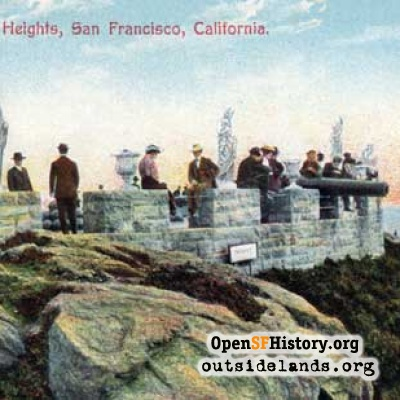 Sutro Heights Parapet, 1910s