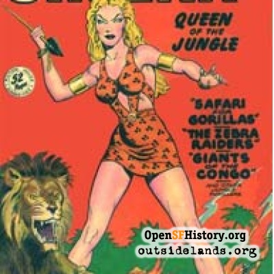 Sheena, Queen of the Jungle comic, 1948