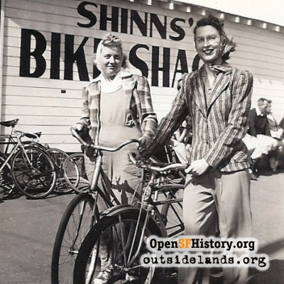 Shinn's Bike Shack 1945