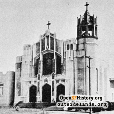 St. Emydius Catholic Church, 1920s.