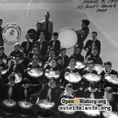 St. Anne's Drum and Bugle Corps, 1950
