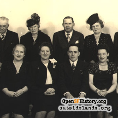 Sunset Community Improvement Club - 1947